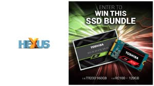 Конкурс HEXUS.net Win a Toshiba SSD bundle