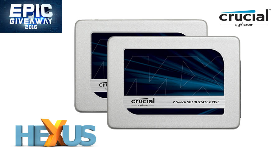 Конкурс HEXUS.net Epic Giveaway 2016 Day 21: Win a 1TB Crucial MX300 SSD
