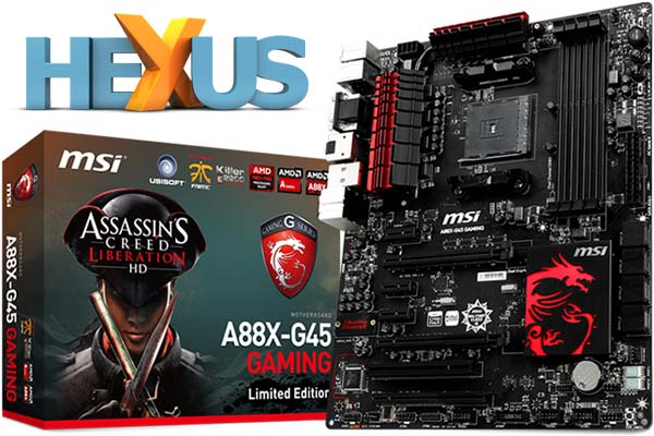 Конкурс HEXUS.net Win an MSI A88X + A10-7850K + R9 270X bundle