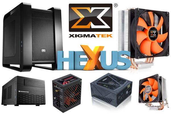 Конкурс HEXUS.net Win a Xigmatek PC hardware upgrade