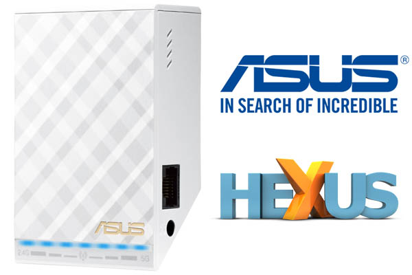 Конкурс HEXUS.net Win one of five Asus RP-AC52 wireless range extenders