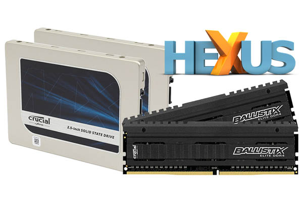 Конкурс HEXUS.net Win a DDR4 or SSD upgrade with Crucial