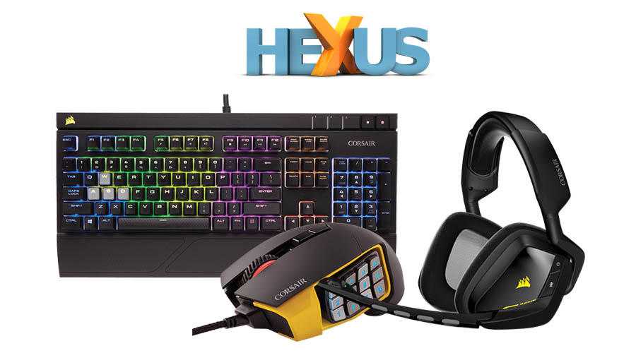 Конкурс HEXUS.net Epic Giveaway Day 7: Win one of two Corsair gaming bundles
