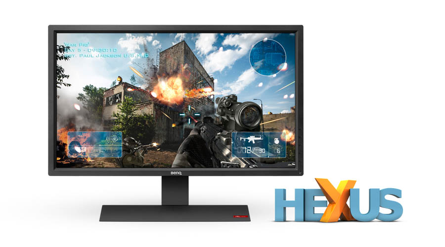 Конкурс HEXUS.net Win a 27in console gaming monitor from BenQ