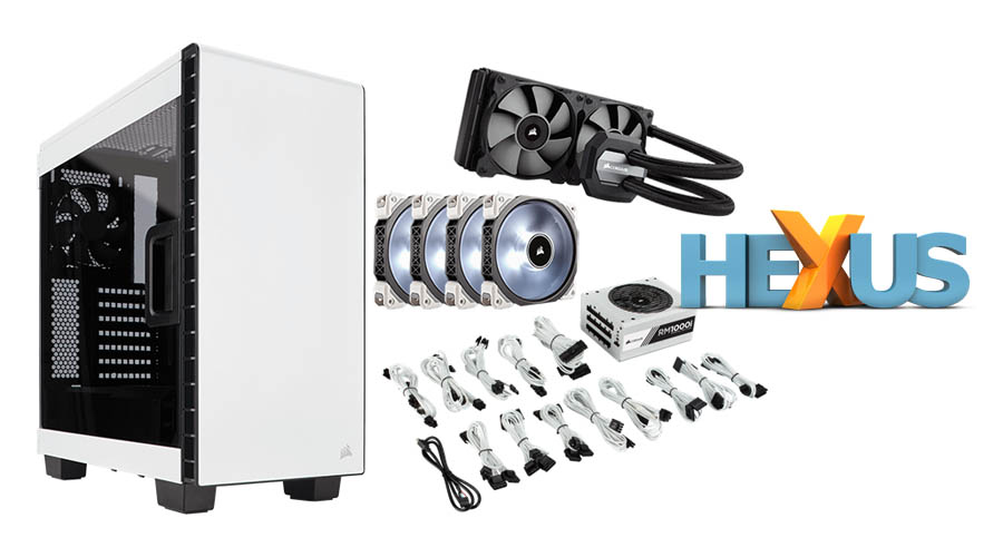 Конкурс HEXUS.net Win a Special Edition Corsair Upgrade Bundle
