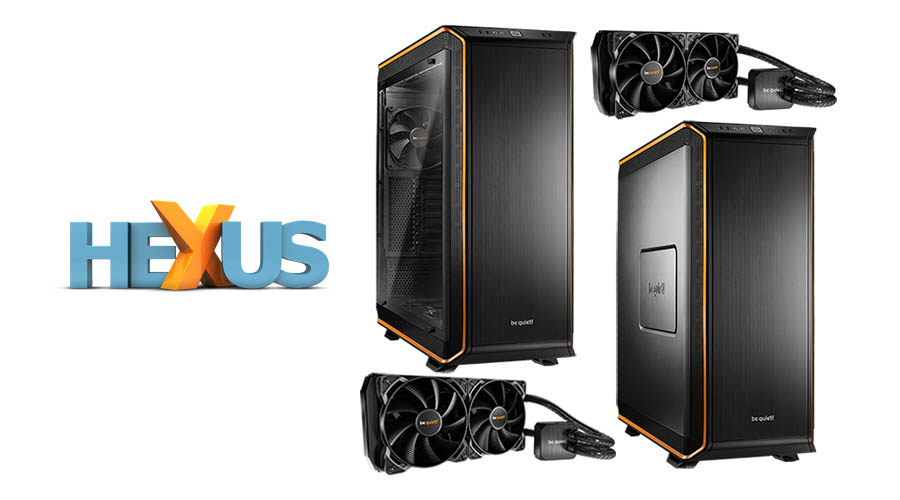 Конкурс HEXUS.net Win a be quiet! Dark Base chassis and Silent Loop cooler