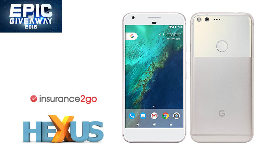 Конкурс HEXUS.net Epic Giveaway 2016 Day 6: Win a Google Pixel XL