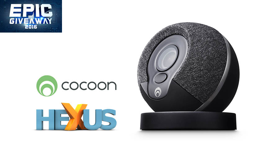 Конкурс HEXUS.net Epic Giveaway 2016 Day 8: Win a Cocoon Home Security System