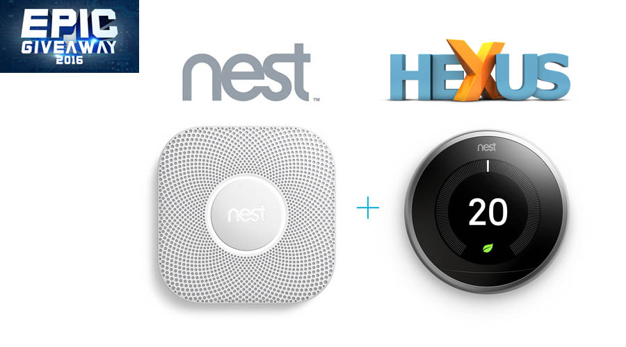 Конкурс HEXUS.net Epic Giveaway 2016 Day 14: Win a Nest Thermostat and Protect bundle