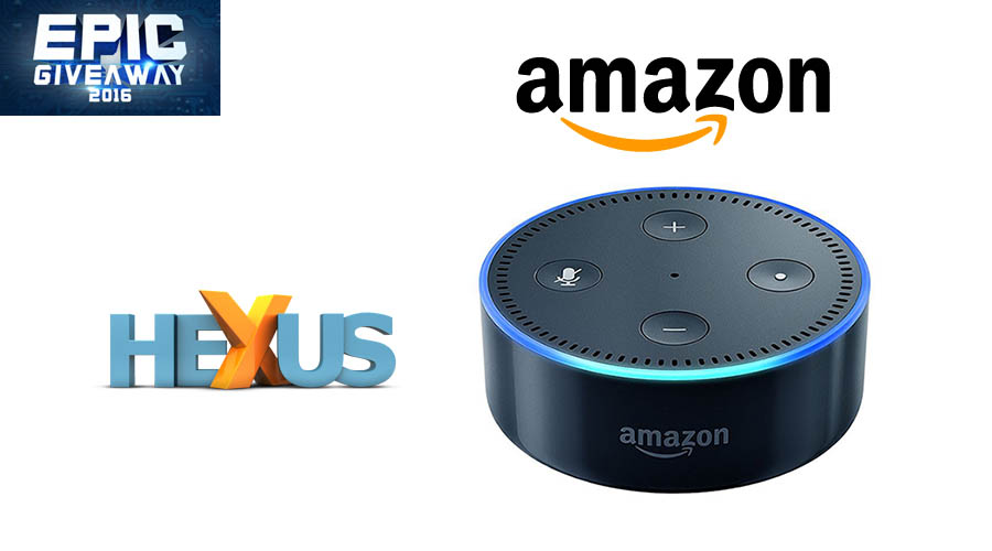 Конкурс HEXUS.net Epic Giveaway 2016 Day 15: Win an Amazon Echo Dot