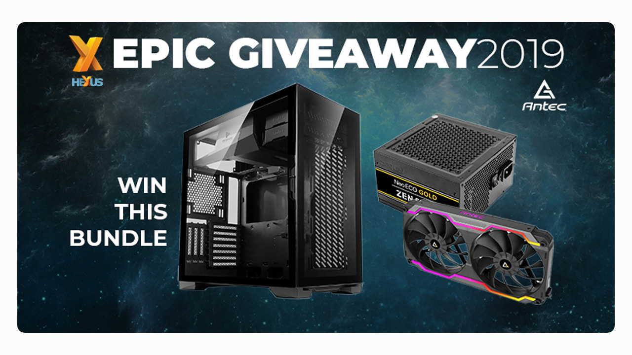 Конкурс HEXUS.net Epic Giveaway 2019 Day 11: Win an Antec PC upgrade