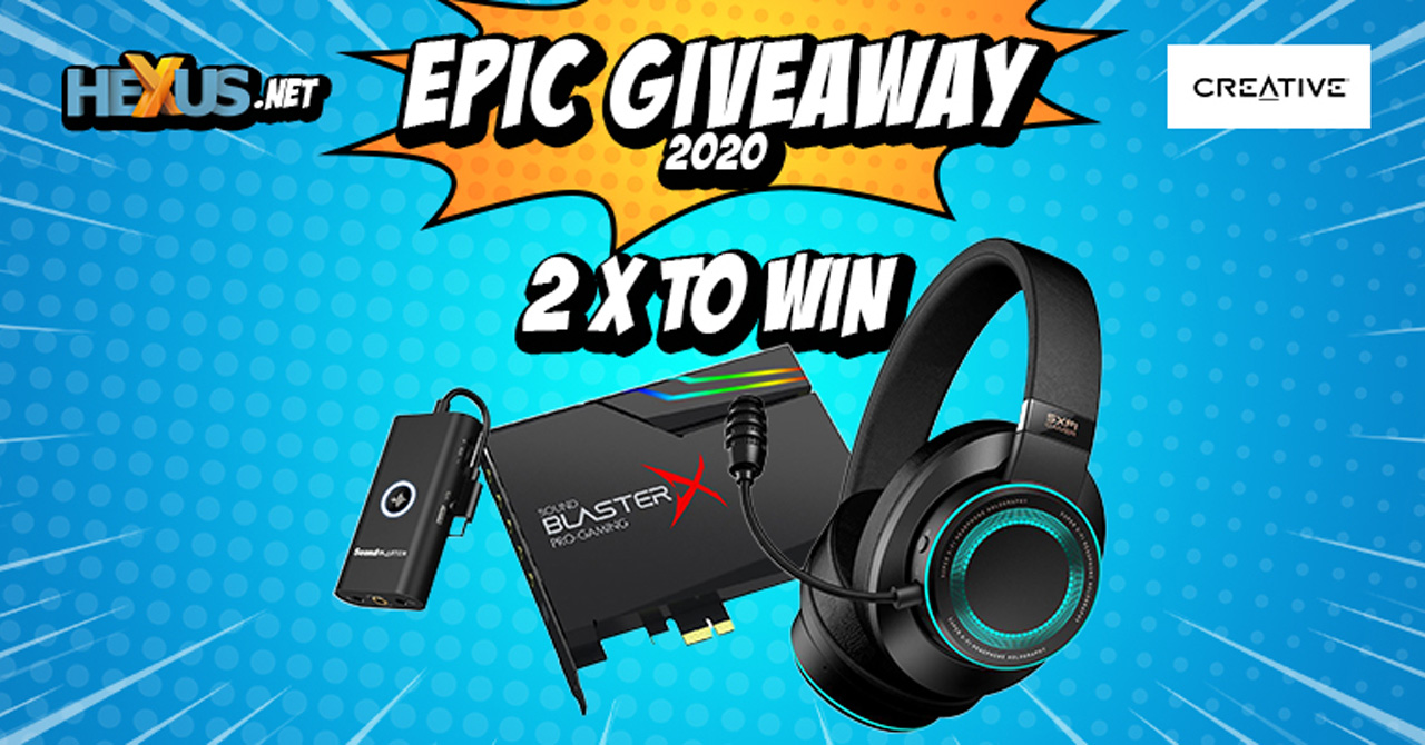 Конкурс HEXUS.net Epic Giveaway 2020 Day 29: Win one of two Creative audio bundles