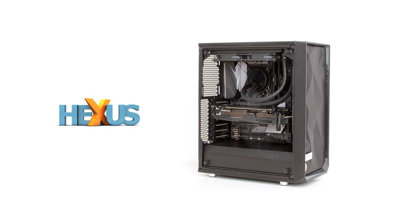 Конкурс HEXUS.net Win a Core i7-8700K gaming rig from Scan and Asus