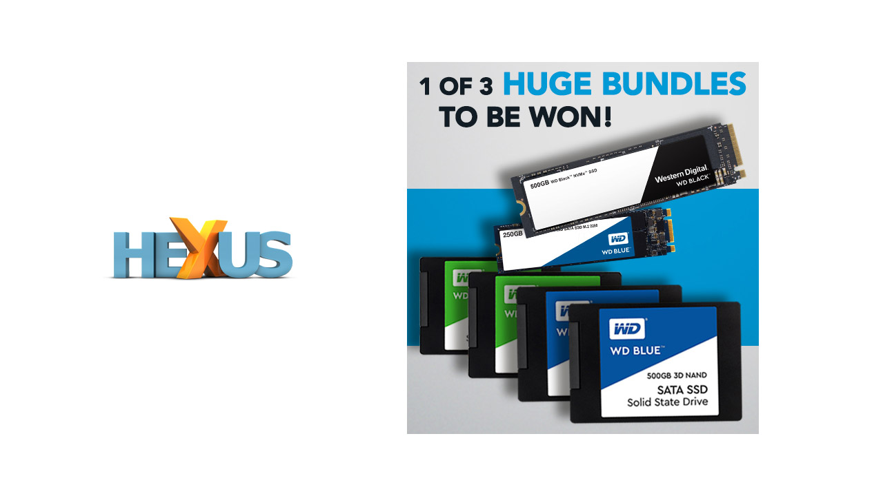 Конкурс HEXUS.net Win a Western Digital SSD upgrade